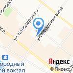 Бон-Тон на карте Архангельска