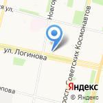 Эскулап на карте Архангельска