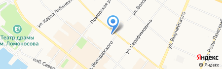 Ок на карте Архангельска