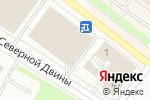 Схема проезда до компании Тигряша в Архангельске