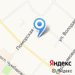 Двина-Софт на карте Архангельска