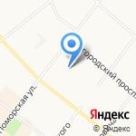 МК-Север на карте Архангельска