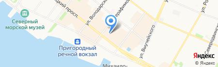 BELWEST на карте Архангельска