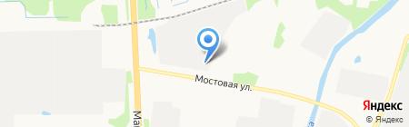 ДиАл на карте Архангельска
