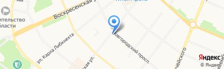 Hookah Place на карте Архангельска