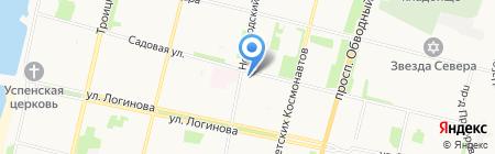 ФотоСнаб на карте Архангельска