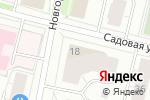 Схема проезда до компании Жемчужина в Архангельске