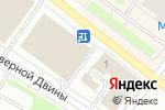 Схема проезда до компании Платежный терминал, Русфинанс Банк в Архангельске