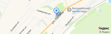 Центральный на карте Боголюбово