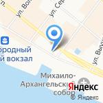 Военная охота на карте Архангельска