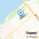 Медиум на карте Архангельска