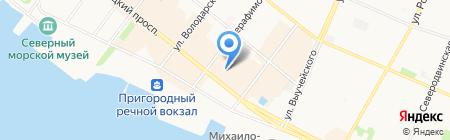 Tamaris на карте Архангельска