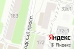 Схема проезда до компании Персоналстрой-сервис в Архангельске