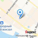 Невеста на карте Архангельска