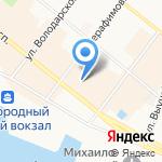 Rieker на карте Архангельска
