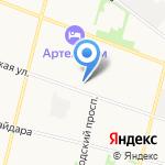 Левушка на карте Архангельска