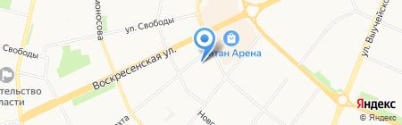 Парадиз Денталь на карте Архангельска