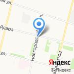 Магазин фастфудной продукции на карте Архангельска