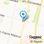 ЛАБОРАТОРИЯ ЗДОРОВЬЯ на карте Архангельска