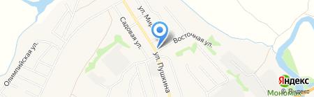 Продуктовый магазин на карте Боголюбово