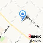 Архитектурно-градостроительная студия на карте Архангельска