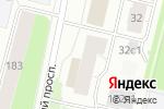 Схема проезда до компании Elit style в Архангельске