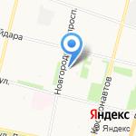 Фэмилистом на карте Архангельска