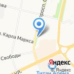 Архангельский морской кадетский корпус на карте Архангельска