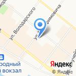 Севернефтегазфлот на карте Архангельска
