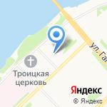 Folk на карте Архангельска
