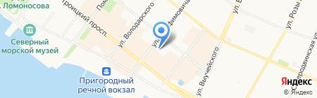 Помощник руководителя на карте Архангельска
