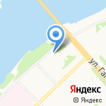 Детская городская библиотека №1 им. Е.С. Коковина на карте Архангельска