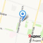 Гастроном на карте Архангельска