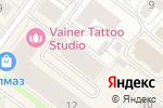 Схема проезда до компании Север в Архангельске