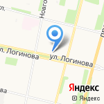 Антенный мир на карте Архангельска
