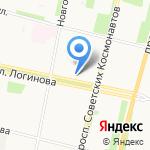 Архангельск Мигрант-Консалтинг на карте Архангельска