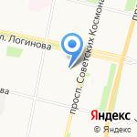 Поморочка на карте Архангельска