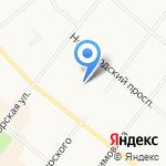 Седьмое небо на карте Архангельска