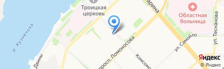 Союз-Техно на карте Архангельска