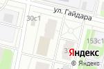 Схема проезда до компании Парикмахерская на Гайдара 30 в Архангельске