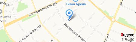 Аморэ Мио салон свадебной на карте Архангельска