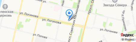 Эксперт Архангельск на карте Архангельска