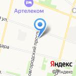 РА29 на карте Архангельска