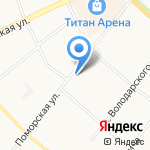 Добродей на карте Архангельска