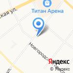 Транзит на карте Архангельска