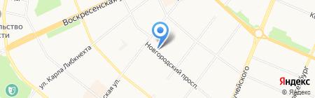 Триолекс на карте Архангельска
