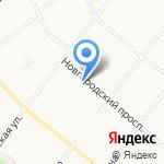 PizzeRolla на карте Архангельска