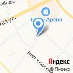 ДЕМОН на карте Архангельска