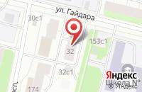 Схема проезда до компании Автотехуслуги-Архангельск в Архангельске