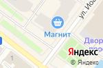 Схема проезда до компании Калитка в Архангельске